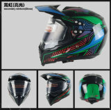 Безопасность шлема мотовелосипеда шлема перекрестка для мотоцикла. Dirtbike