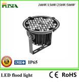 luz de inundação nova do diodo emissor de luz do projeto 100With150With250With500W com o excitador IP65 do poço do meio da microplaqueta do CREE