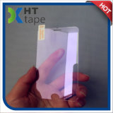 Protetor protetor azul roxo da tela dos olhos da película de cor para o iPhone