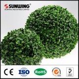 Bola artificial de la cerca del topiary del búfalo artificial del jardín de la alta calidad