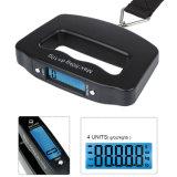 Alta calidad 50kg X 10g LCD Digital Escala colgante del recorrido de equipaje digital