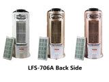 Refroidisseur d'air mobile électrique de ventilateur de piédestal de ventilateur d'étage à C.A. de faible consommation d'énergie bien choisie de Multiple-Couleur Lfs-706A