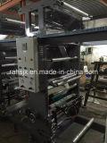 Machine de presse d'impression de gravure de couleurs de double pour l'impression de film plastique