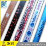 Wristband di festival del poliestere del tessuto del panno sublimato raso di seta superiore di vendita