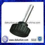Perilla métrica del plástico del tornillo de pulgar