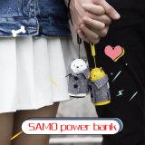 batterie de téléphone mobile de côté de pouvoir de Samo de cadeau de Noël de la mode 5200mAh