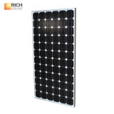 Barco monocristalino solar de la caravana de la casa del módulo del panel 12V 200W del uso de la red