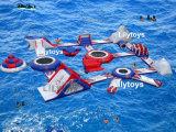 Sosta calda della spiaggia di Inflatables della sosta dell'acqua del Aqua del lago per la spiaggia