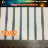 Tela tingida fio, tela tecida listra de Teaxtile do poliéster para o forro (S73.82)