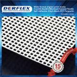 Belüftung-Ineinander greifen-Zaun-materielles Vinylüberzogene Polyester-Gewebe-Fahne