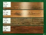 Carrelages en bois rustiques normaux de céramique de promotion