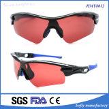 Gafas de sol calientes del deporte del diseño de la manera de la venta con PC polarizada