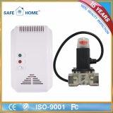 台所のための情報処理機能をもった結合されたガスおよび一酸化炭素検知管