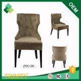 Cadeira real do Wingback do baixo preço da faia do modelo novo para a cafetaria