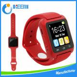 携帯電話の腕時計人間の特徴をもつU8 U80スマートなBluetoothの腕時計の電話カメラのスマートな腕時計
