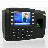 Atención y control de acceso (TFT600-II) del tiempo de la huella digital