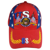 Gorra de béisbol caliente de la venta con Niza 3D la insignia Bbnw42