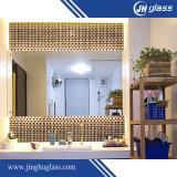 spiegel van het Glas van 36mm de Muur Opgezette voor Badkamers