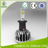 phare de la voiture LED de 38W 5000lm 6000k 12V 24V S15 Canbus