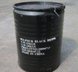 Br 100-240% do preto do enxôfre da tintura de matéria têxtil