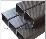 Leichtes Kohlenstoff-Faser-Quadrat-Gefäß
