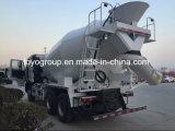 10m3 HOWO 6X4 Betonmischer-Tanker-LKW