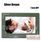 zilveren Droom van het Kader van de Foto van 7 duim de Digitale (ci-DPF105)