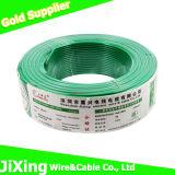 H07V-U escogen el cable de alambre eléctrico aislado PVC de cobre sólido del conductor de la base