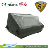 High Lumen Efficacy Outdoor Standard Brown Acabamento 45 Watt LED Wall Pack Fixture
