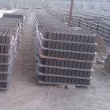 Páletes do PVC para a máquina de fatura de tijolo