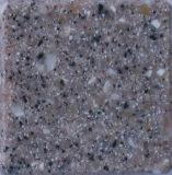 Partie supérieure du comptoir acrylique de cuisine modifiée par surface pleine acrylique composée (GB409)