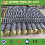 Rete fissa rivestita utilizzata di collegamento Chain del PVC per la rete fissa dell'azienda agricola