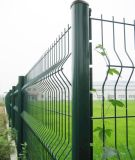 Wire saldato Mesh Fence in 50X200mm con Peach Post