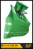 de Hydraulische Overhellende Emmer van 1200mm, de Emmer van de Modder van de Schuine stand van het Graafwerktuig