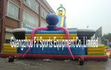 Escalada de rocha inflável com bouncer da corrediça, bouncer grande inflável, corrediça grande inflável