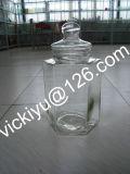 grande frasco de vidro do alimento 10L, recipiente de vidro do alimento