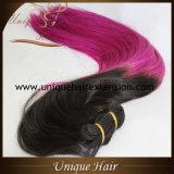 Уток волос Ombre бразильский Remy