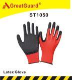 やししわの乳液の上塗を施してある手袋(ST1050B)
