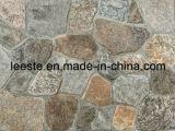 Естественный камень уступчика шифера, панель уступчика шифера для плакирования стены