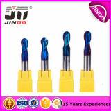 Scherpe Hulpmiddelen van de Molen van het Eind van het Carbide Dameter van Jinoo HRC45 de Stevige voor Metaal
