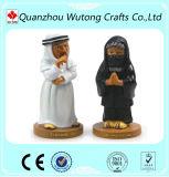Kundenspezifische verschiedene Kultur-Zeichen-Andenken Polyresin Figürchen