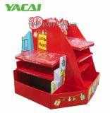 Faltbare kundenspezifische Supermarkt-Pappladeplatten-Bildschirmanzeige für Schokolade, haltbare PappPoint of Sale Ausstellungsstände
