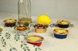 Цветастая чашка выпечки десерта фольги домочадца