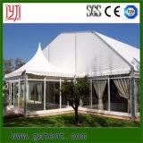 كبيرة مسيكة ألومنيوم إطار حزب خيمة مع حائط جانبيّ زجاجيّة