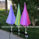 Fahrrad-Regenschirm-Baby-Spaziergänger-Regenschirm-Fischen-Stuhl festgeklemmter Regenschirm