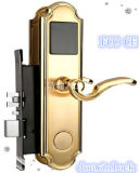 Fechamento bonito do punho de porta do projeto do sistema do gerente com chave mecânica