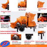 소형 Concrete Mixer 및 Pump