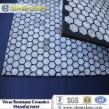 Retardamento cerâmico para polia Ficando com alta qualidade 92% Alumina Oxide Tiles encaixada em borracha