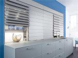 De Welbom do projeto requintado do lustro da laca armário 2015 de cozinha elevado branco