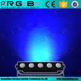 最も新しい工場価格5LEDs 25W RGBWA 5in1屋外LEDの壁の洗濯機